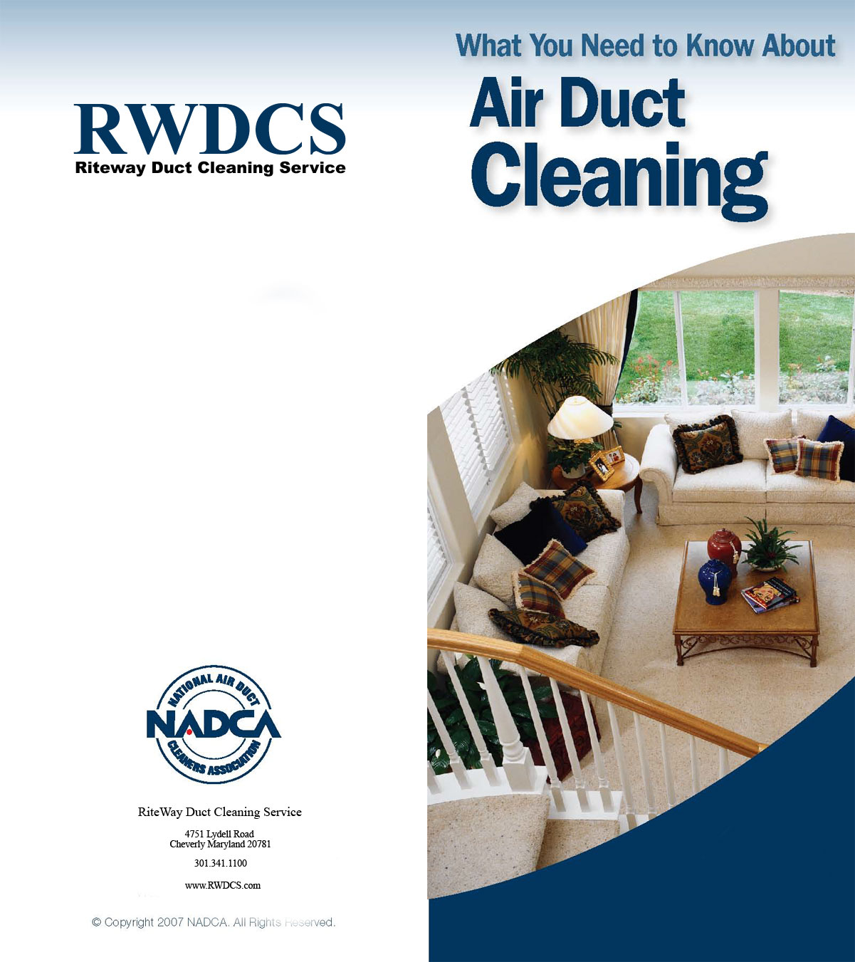 news releases riteway duct cleaning service brochure pg1